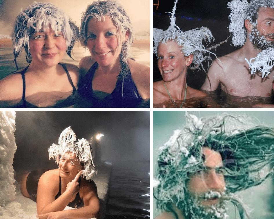 Hair Freezing Contest, Canada