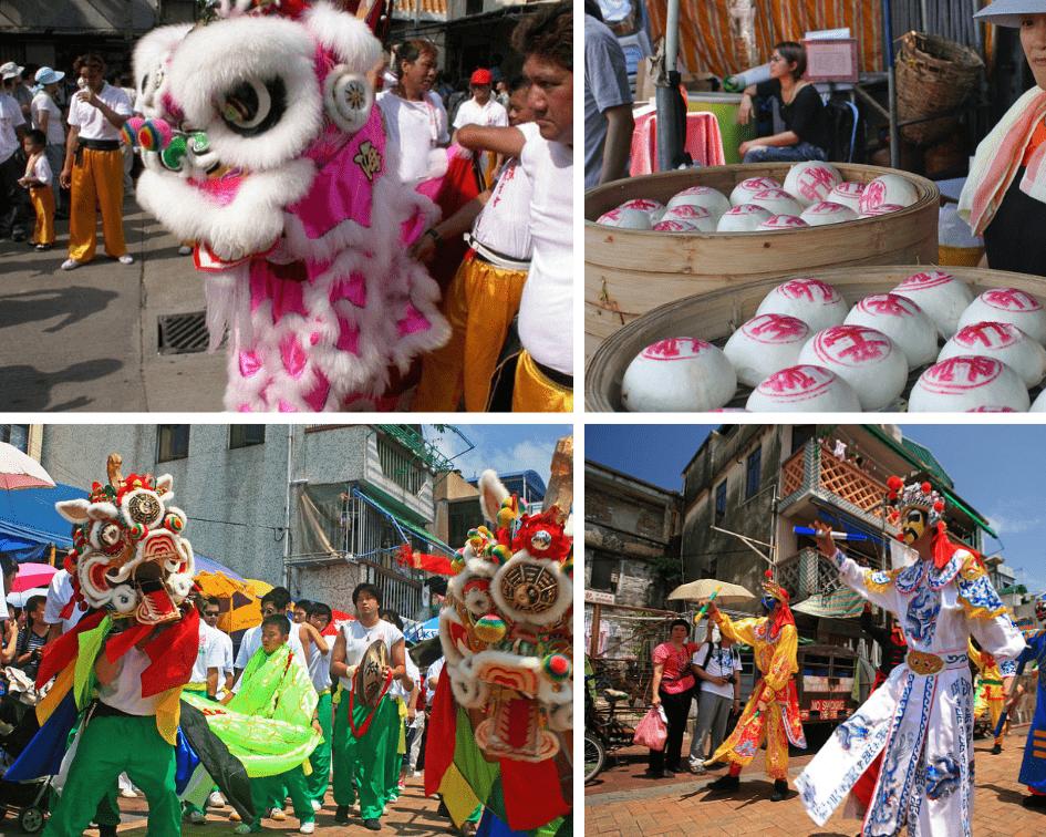 Cheng Chau Bun Festival, China