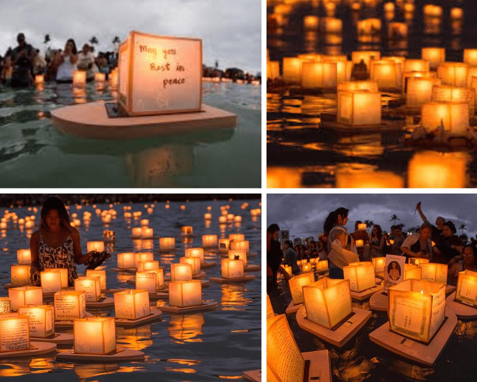 Floating Lantern Festival, Hawaii