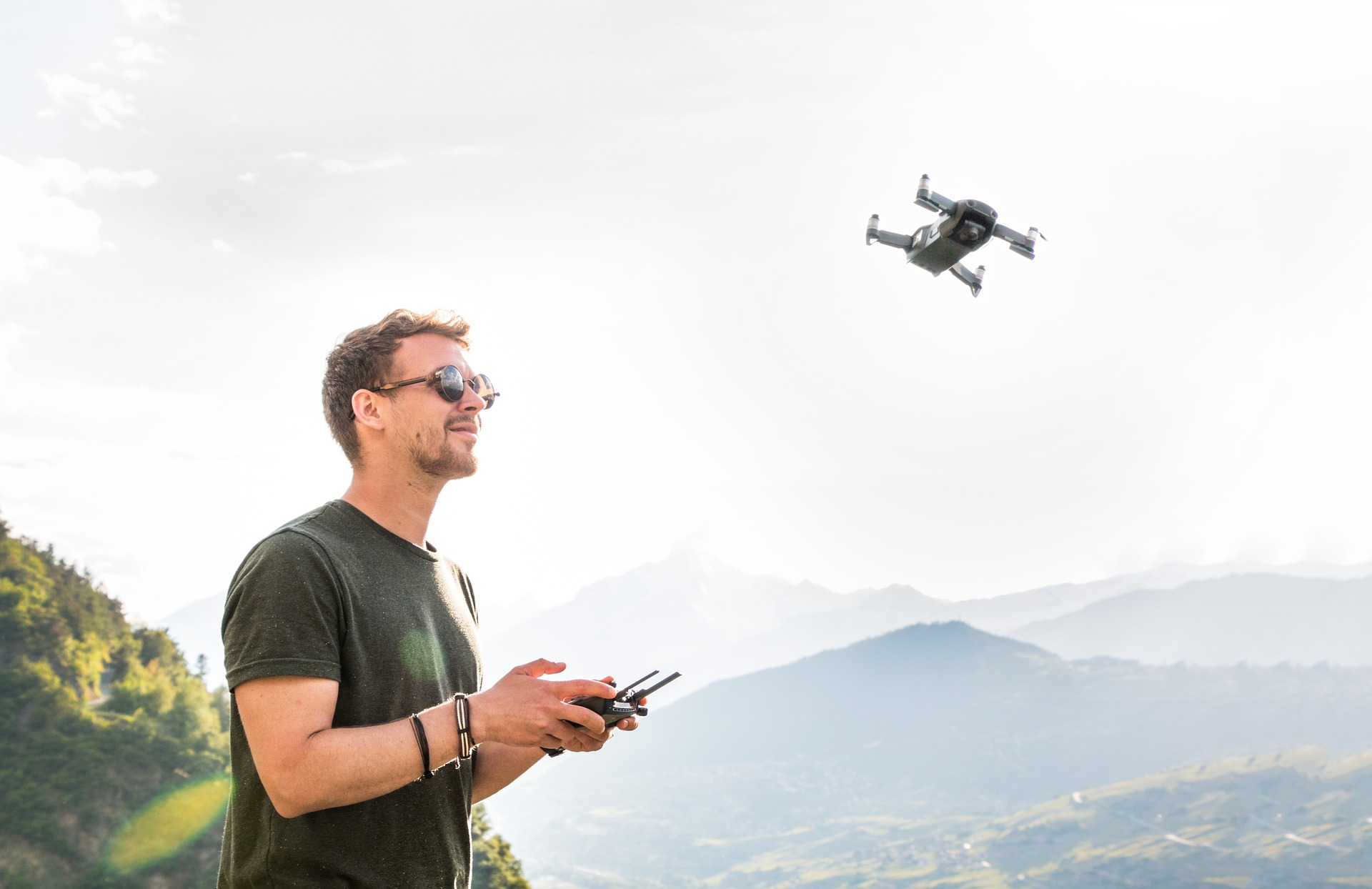 Commercial drone pilot