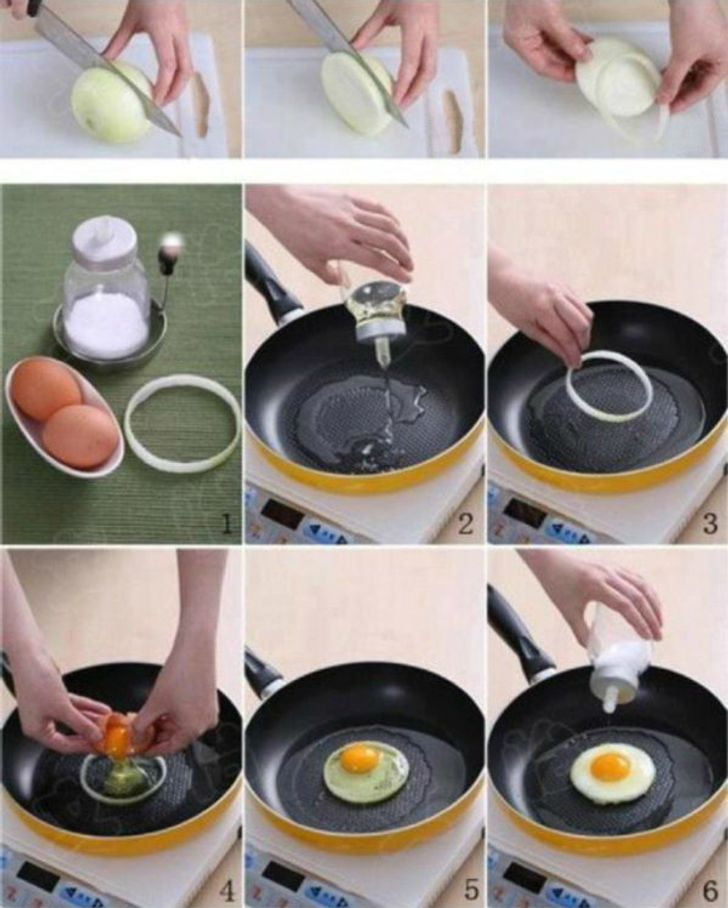 Fry egg the perfect way