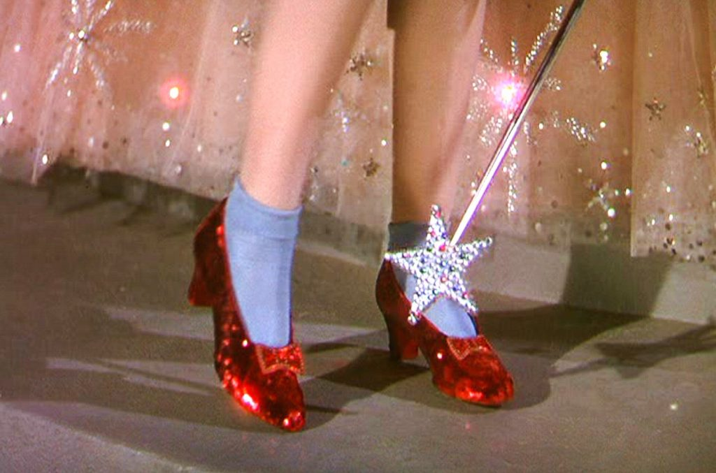 'Wizard of Oz' Ruby Slippers – $6.1 million