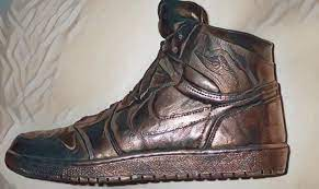 AutographedNike Air Jordan 1 – $60,000