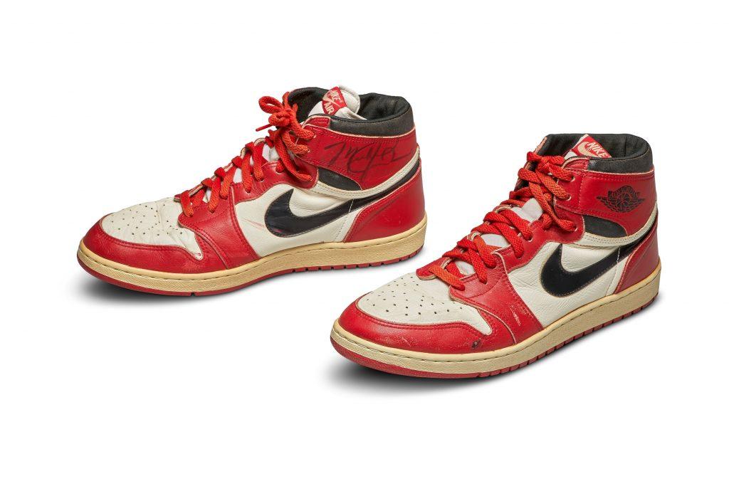 Michael Jordan Worn Air – $104,765