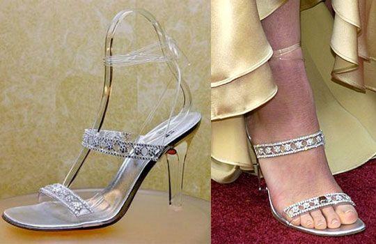 Stuart Weitzman Cinderella Slippers – $2 million