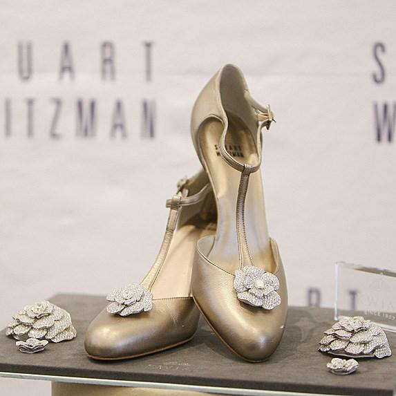 Stuart Weitzman Retro Rose Pumps — $1 million