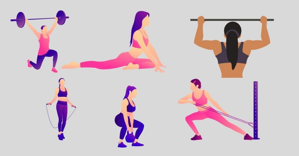 Look to Develop and Build Muscles