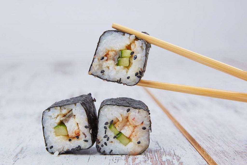 Sushi NOT SO HEALTHY